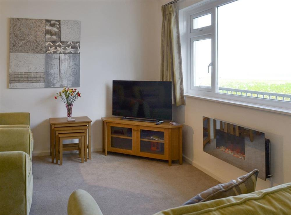 Welcoming living area at Torbay View in Brixham, Devon