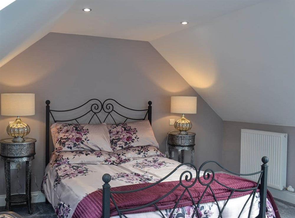 Double bedroom at Torcross Barn in Tarbolton, near Ayr, Ayrshire