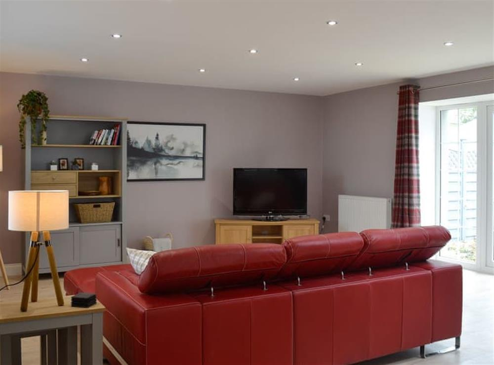 Open plan living space (photo 3) at Torcross Barn in Tarbolton, near Ayr, Ayrshire