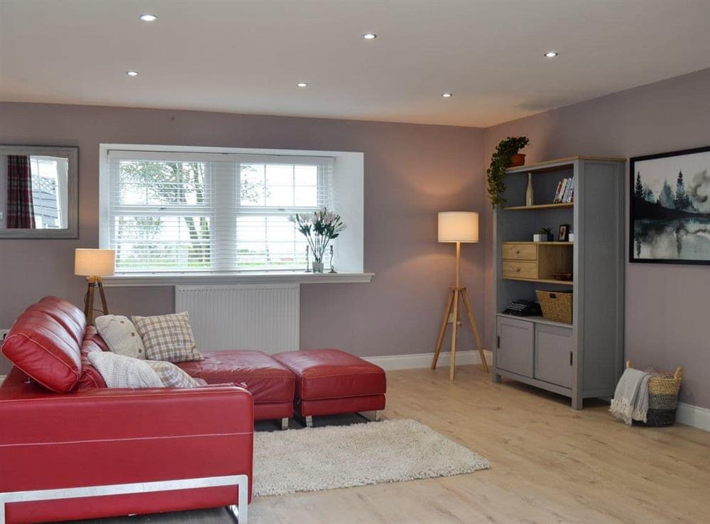 Open plan living space (photo 4) at Torcross Barn in Tarbolton, near Ayr, Ayrshire