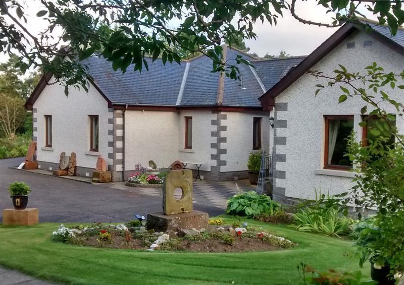 The garden at Torview House, Lyne Station near Peebles