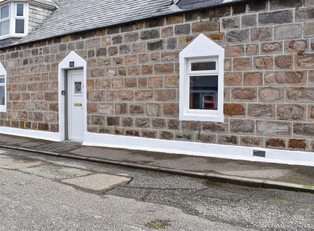 Exterior at Tradewinds in Portknockie, near Buckie, Moray, Banffshire