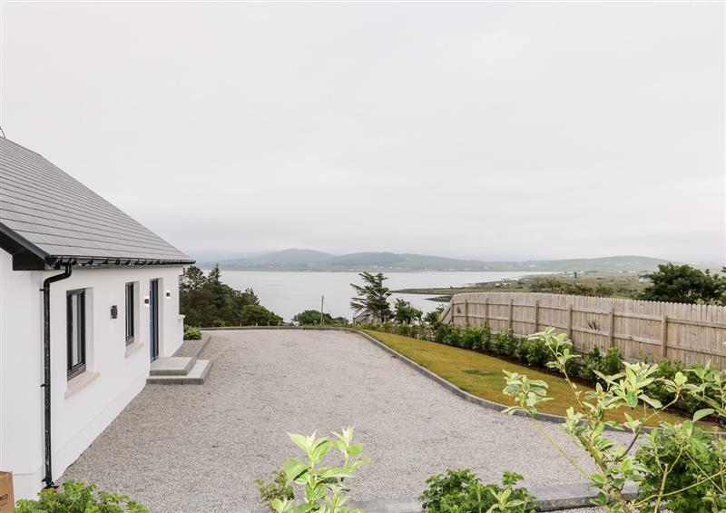 Enjoy the garden at Traeannagh Bay House, Meenacross near Dungloe