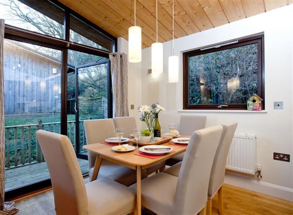 Dining Area at Treetops at Gara Mill in , Slapton