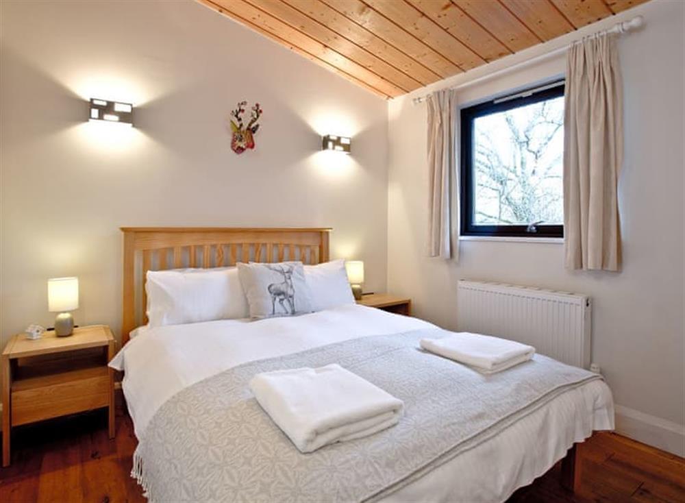 Double bedroom at Treetops at Gara Mill in , Slapton
