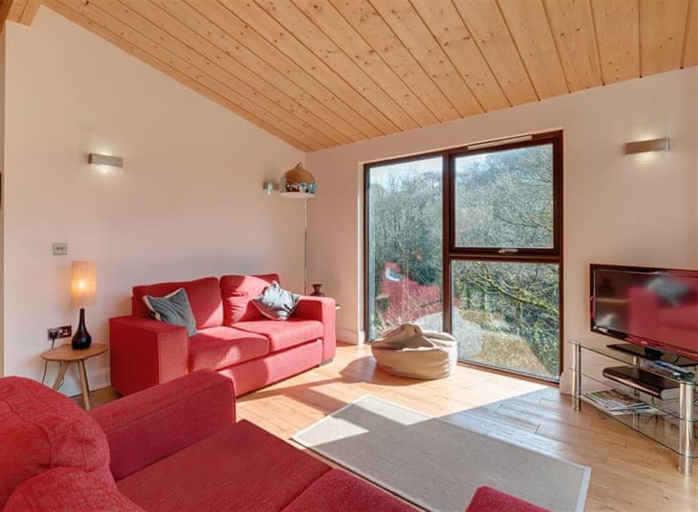 Open plan living space at Treetops at Gara Mill in , Slapton