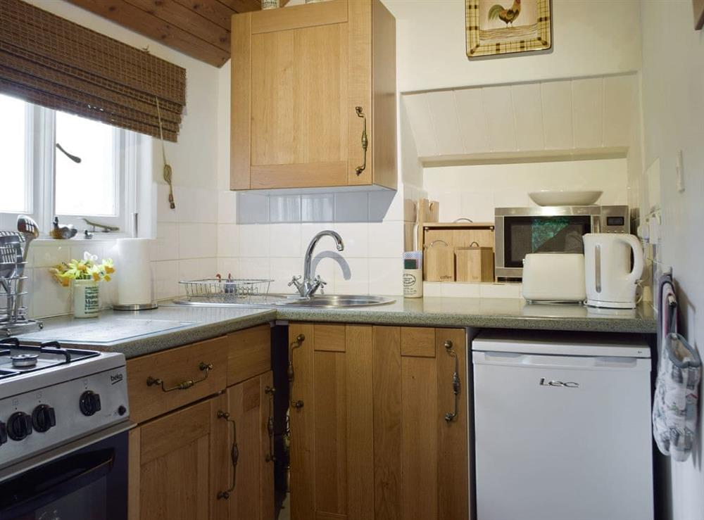 Well-equipped fitted kitchen at Little Box,