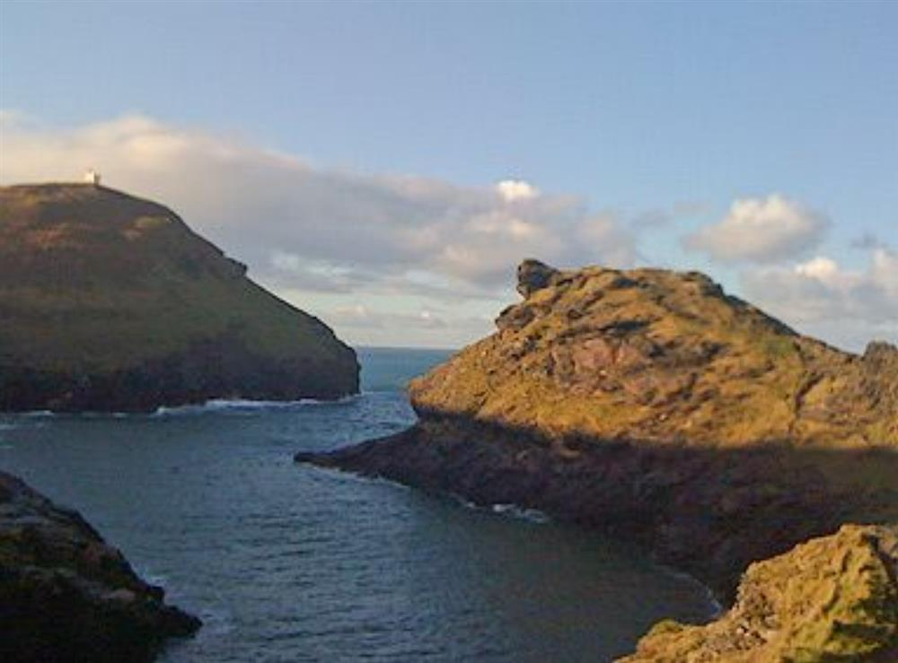 Boscastle coastgaurd lookout station