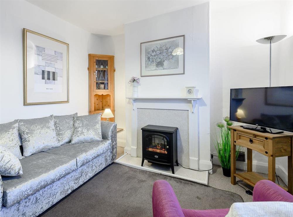 Living room at Trent Cottage in Newark, Nottinghamshire