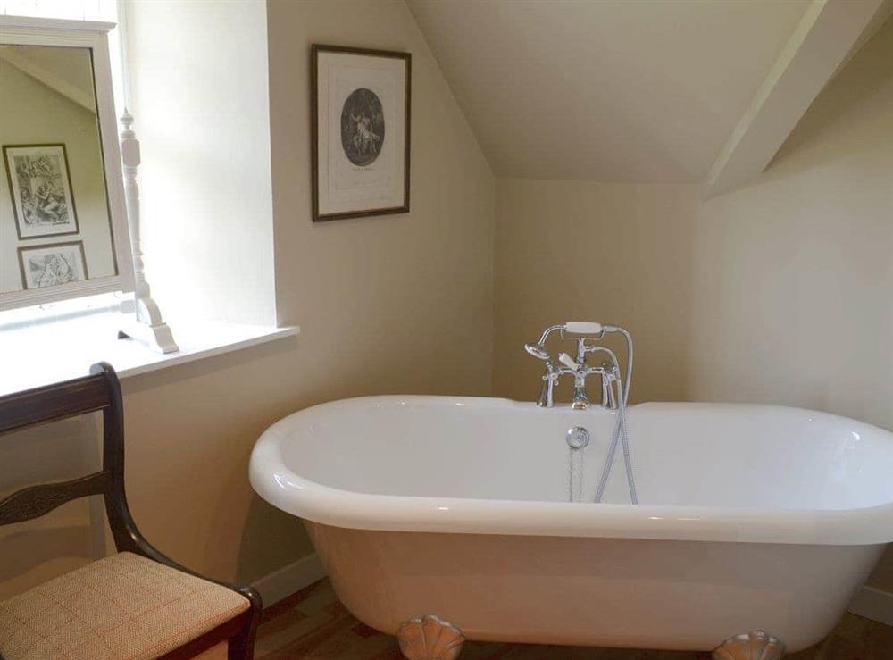 Bathroom at Tressady Coach House in Rogart, near Dornoch, Sutherland