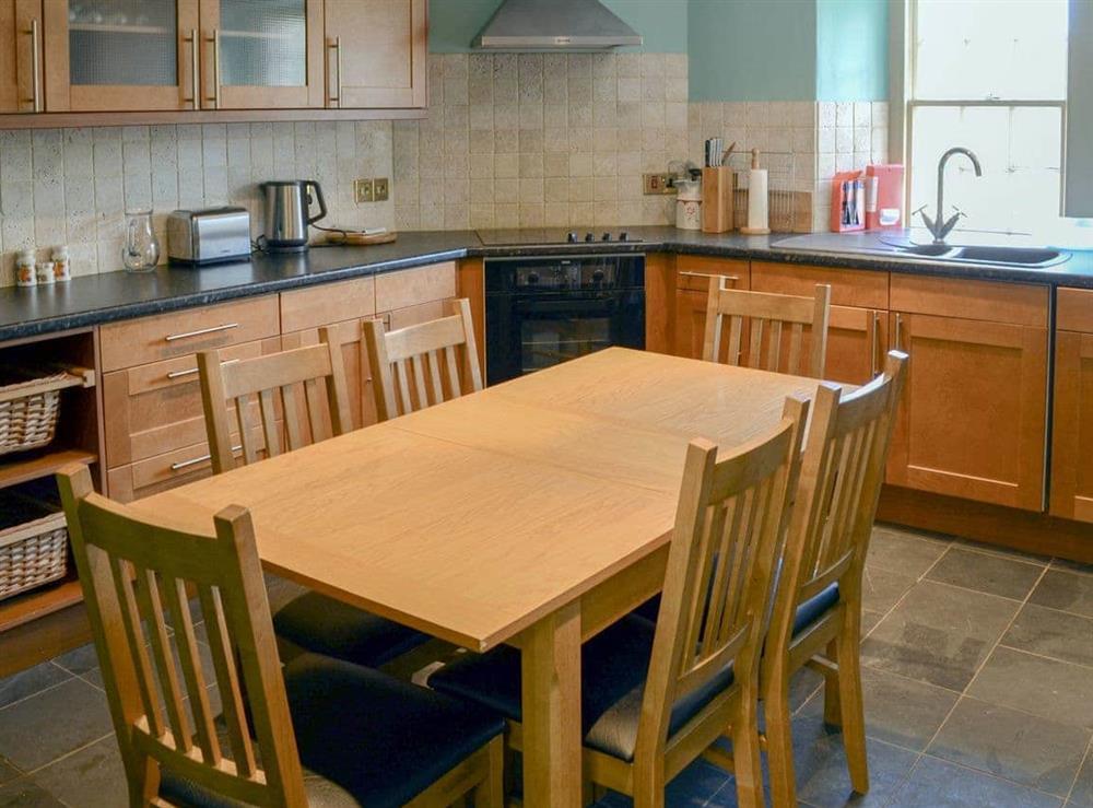 Kitchen/diner at Tressady Coach House in Rogart, near Dornoch, Sutherland