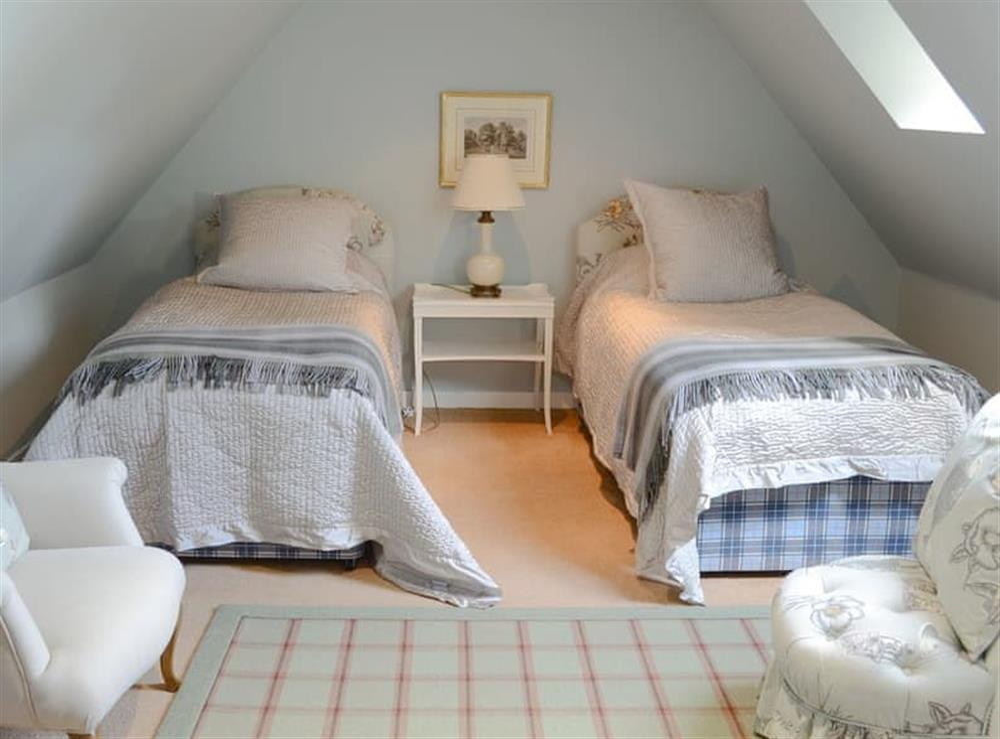 Twin bedroom (photo 2) at Tressady Coach House in Rogart, near Dornoch, Sutherland