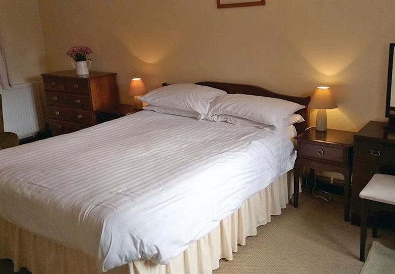 Bedroom in Mill Cottage at Trimstone Cottages in Trimstone, North Devon