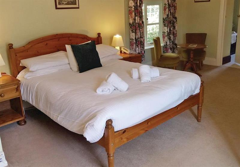 Double bedroom in the Croyde Studio at Trimstone Cottages in Trimstone, North Devon