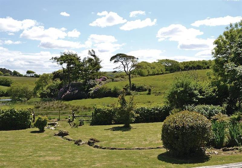 Grounds and setting at Trimstone Cottages in Trimstone, North Devon
