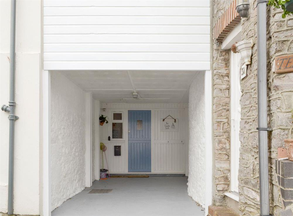 Characterful entrance to holiday home