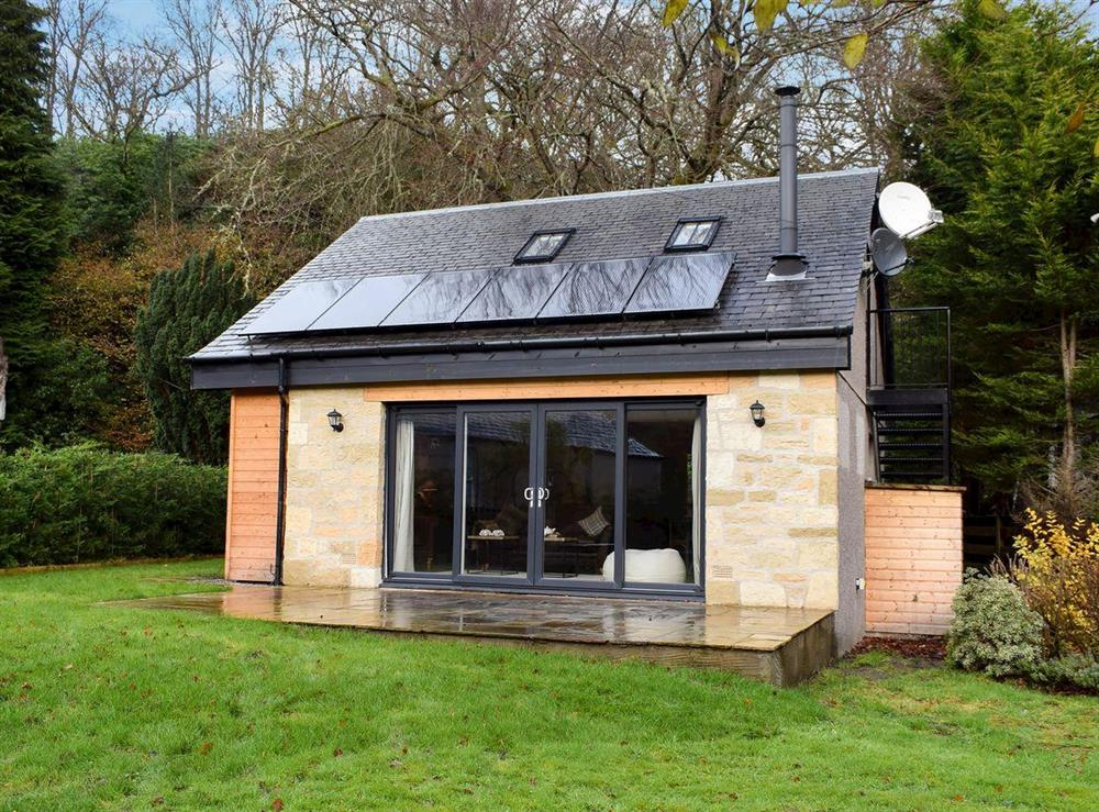 Spacious eco-friendly cottage at Trunkie Cottage in Brig o' Turk, near Callander, Perthshire