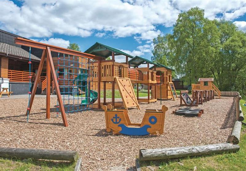 Children's play area at Tummel Valley in Pitlochry, Perthshire & Southern Highlands