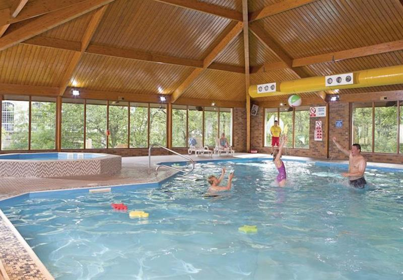 Indoor heated swimming pool at Tummel Valley in Pitlochry, Perthshire & Southern Highlands