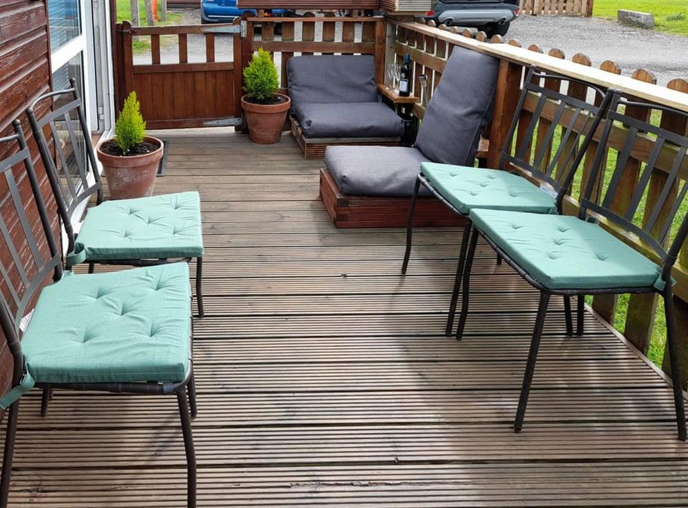Terrace at Ty Bach in Bridlington, North Humberside
