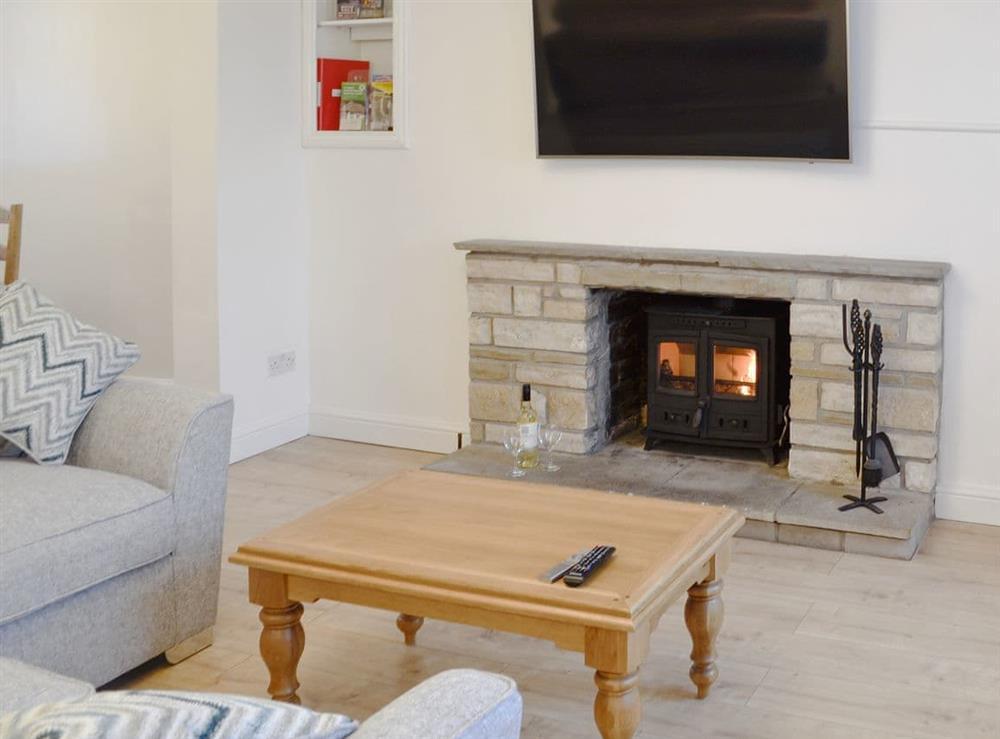 Comfortable living room area at Ty Bryn Cottage in Kenfig Hill, near Bridgend, Glamorgan, Mid Glamorgan