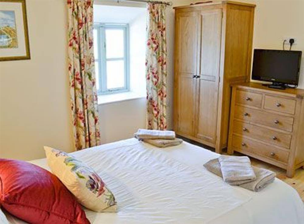Double bedroom at Ty Cam in Nr. Aberdaron, Gwynedd., Great Britain