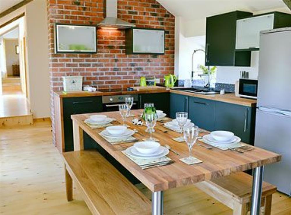Kitchen/diner at Ty Cam in Nr. Aberdaron, Gwynedd., Great Britain