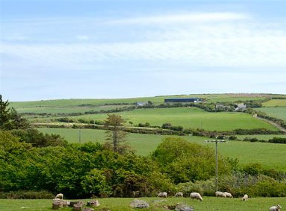 Surrounding area at Ty Cam in Nr. Aberdaron, Gwynedd., Great Britain