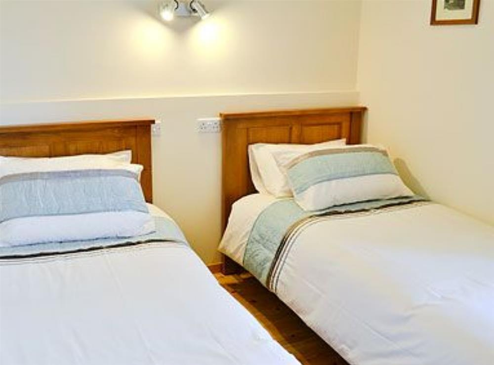 Twin bedroom at Ty Cam in Nr. Aberdaron, Gwynedd., Great Britain