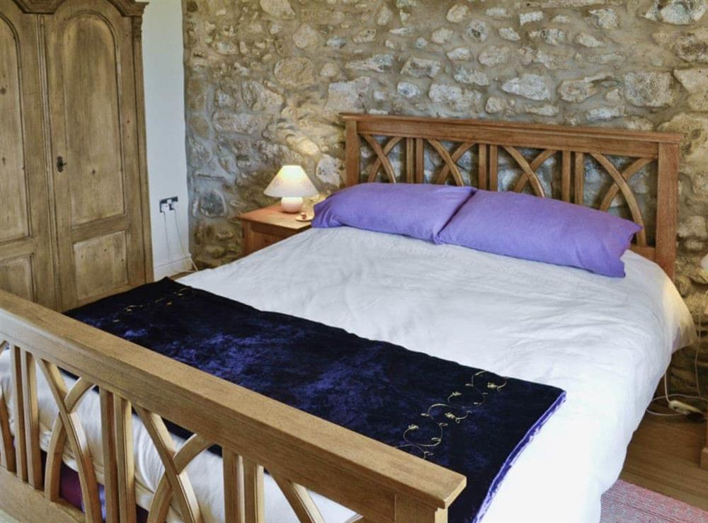 Double bedroom at Ty Hir in Aberdaron, Pwllheli. , Gwynedd