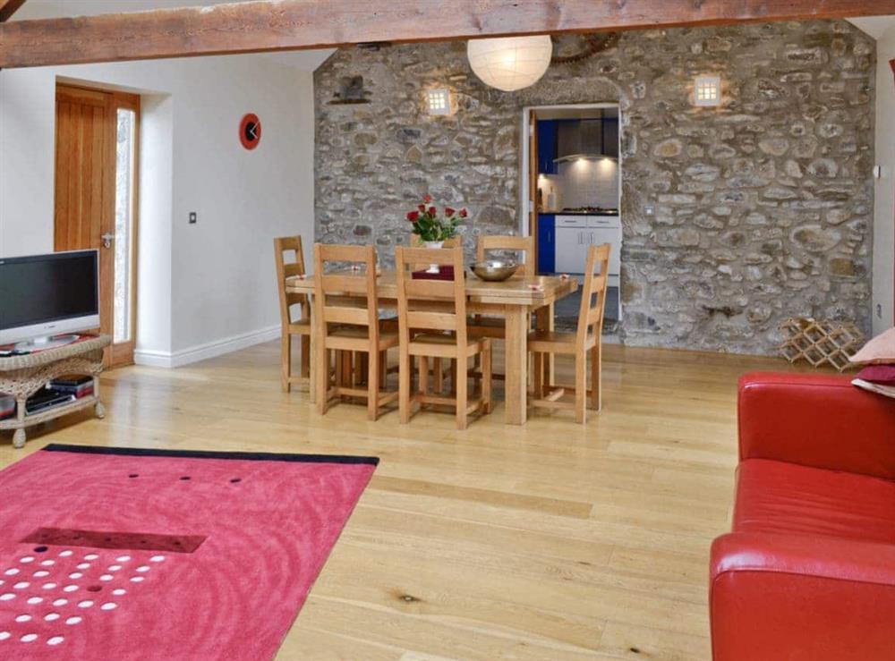 Living room/dining room at Ty Hir in Aberdaron, Pwllheli. , Gwynedd
