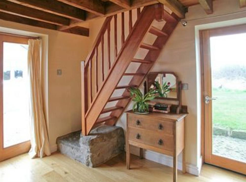 open tread stairs at Ty Hir in Aberdaron, Pwllheli. , Gwynedd