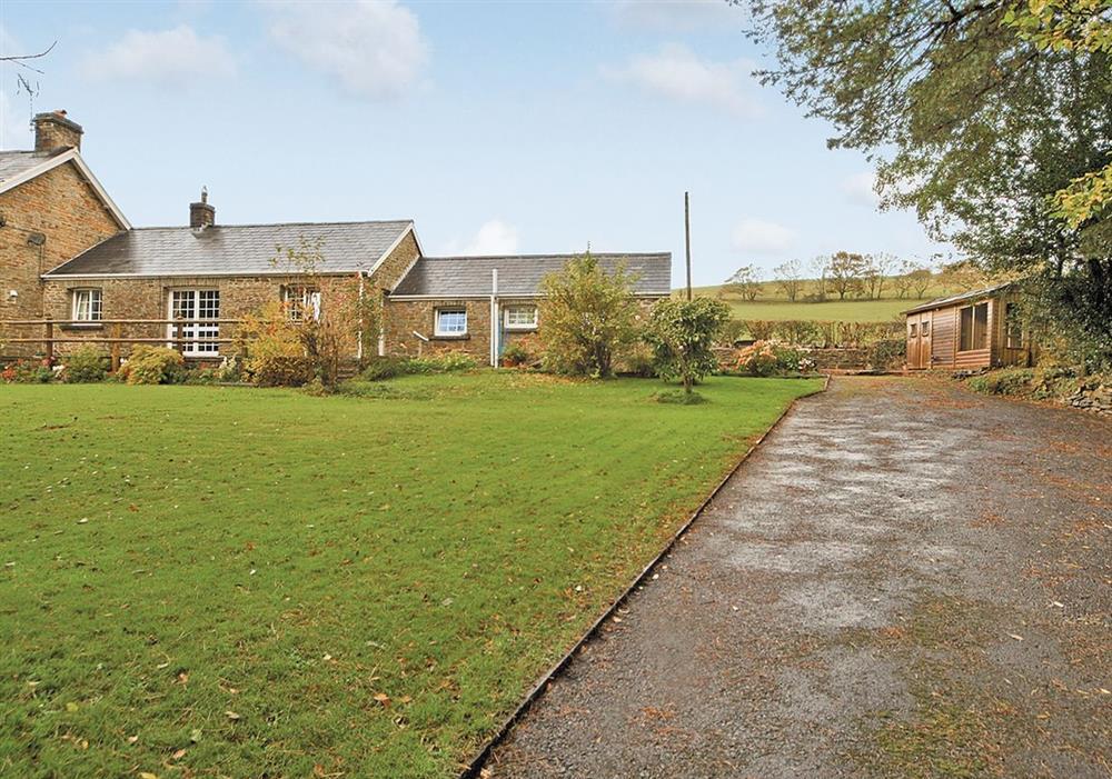 Exterior at Ty Maen Cottage in Llangynwyd, near Bridgend, Glamorgan/The Valley Region