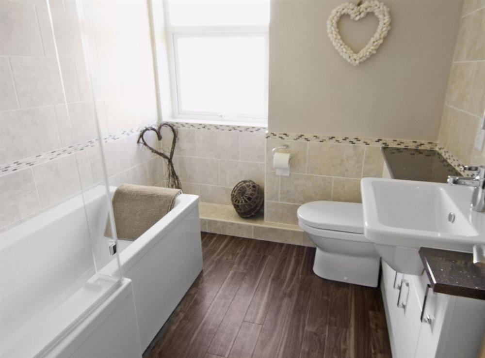 Bathroom at Tyddyn Hen in Sarn, near Pwllheli, Gwynedd