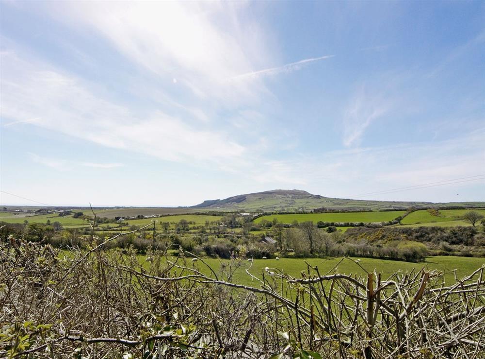 View at Tyddyn Hen in Sarn, near Pwllheli, Gwynedd