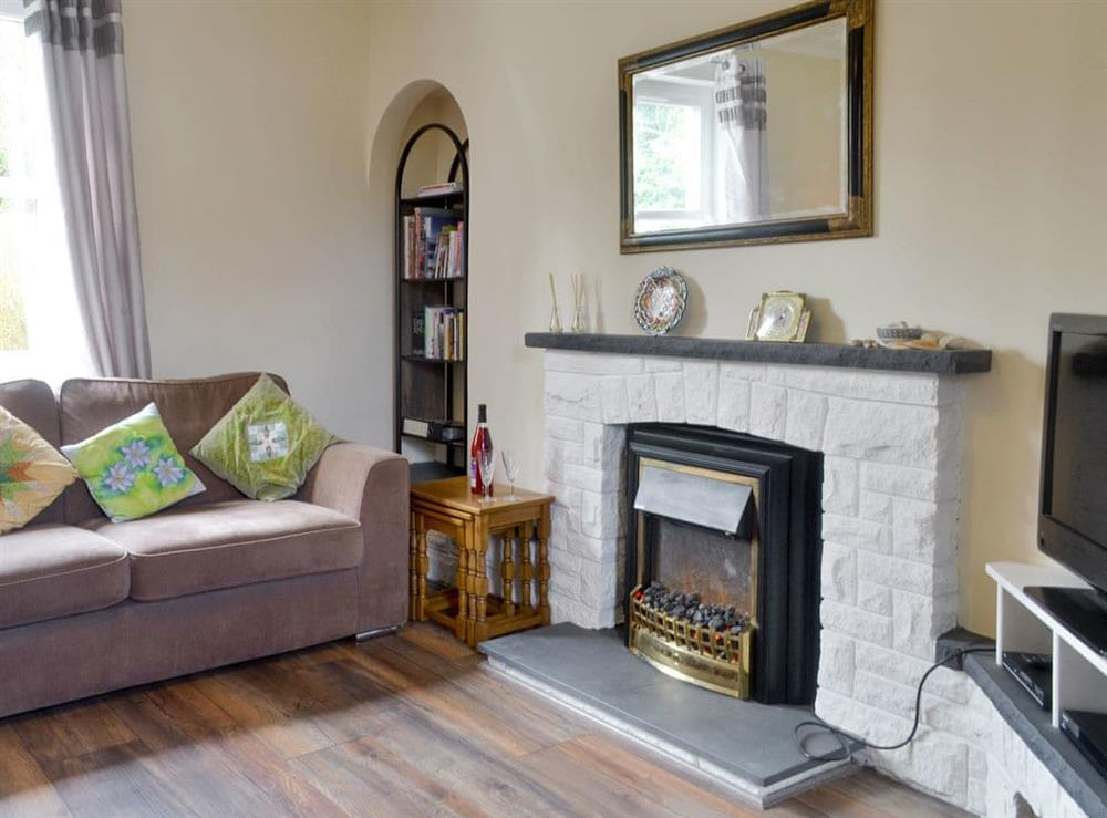 Welcoming living area at Uimhir a Do in Rosneath, near Helensburgh, Dumbartonshire