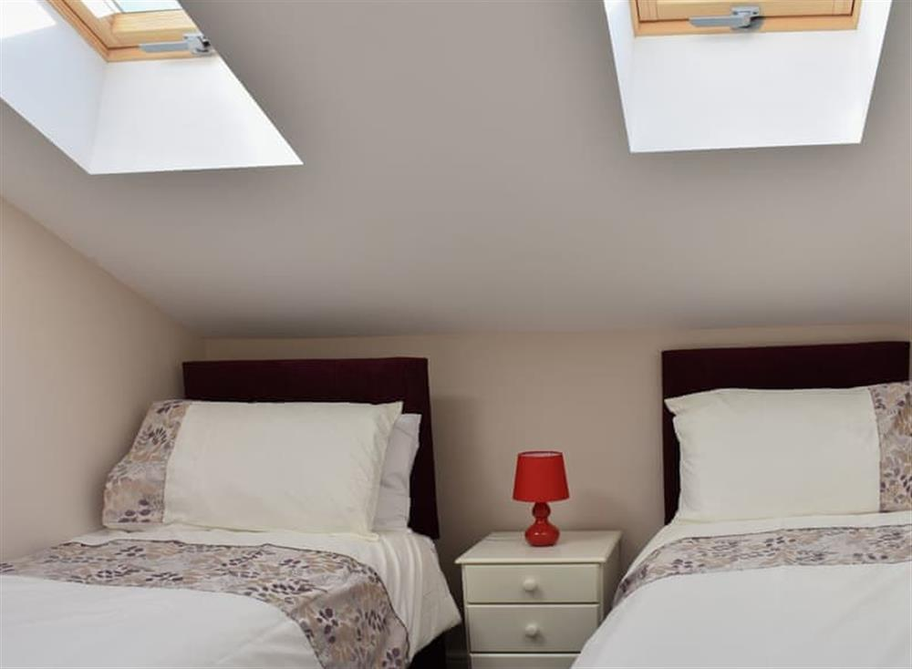 Twin bedded room with Velux windows