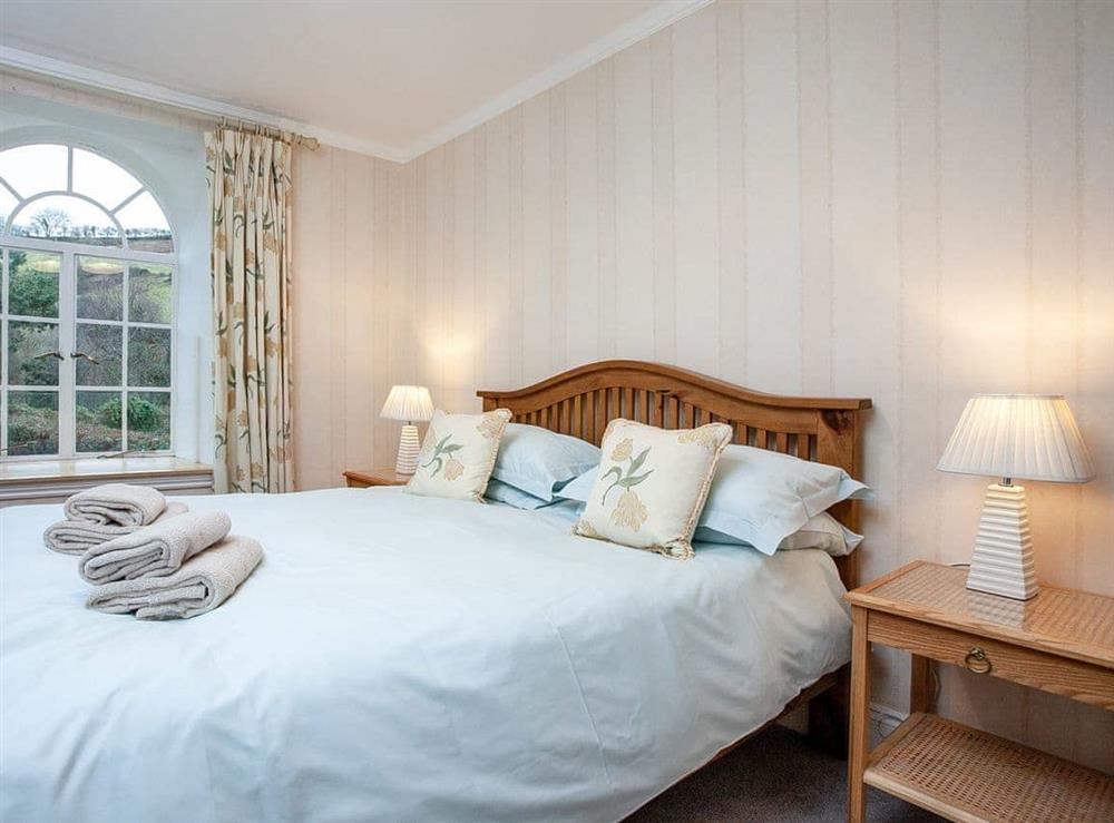 Double bedroom at Vat House in Bow Creek, Nr Totnes, South Devon., Great Britain
