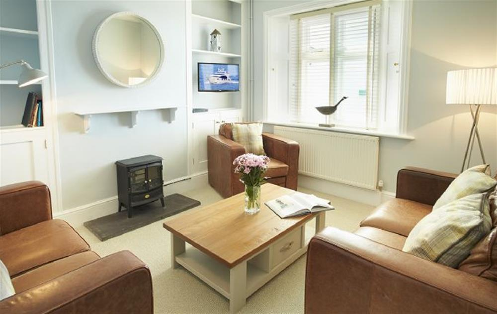 Ground floor: Sitting room at Veronica Cottage, Anvil Point Lighthouse