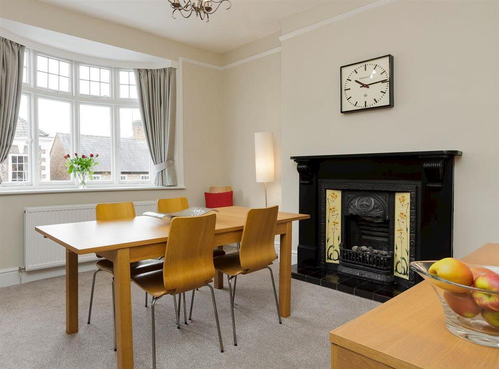 Charcterful dining area at No 1 Victoria Apartment,
