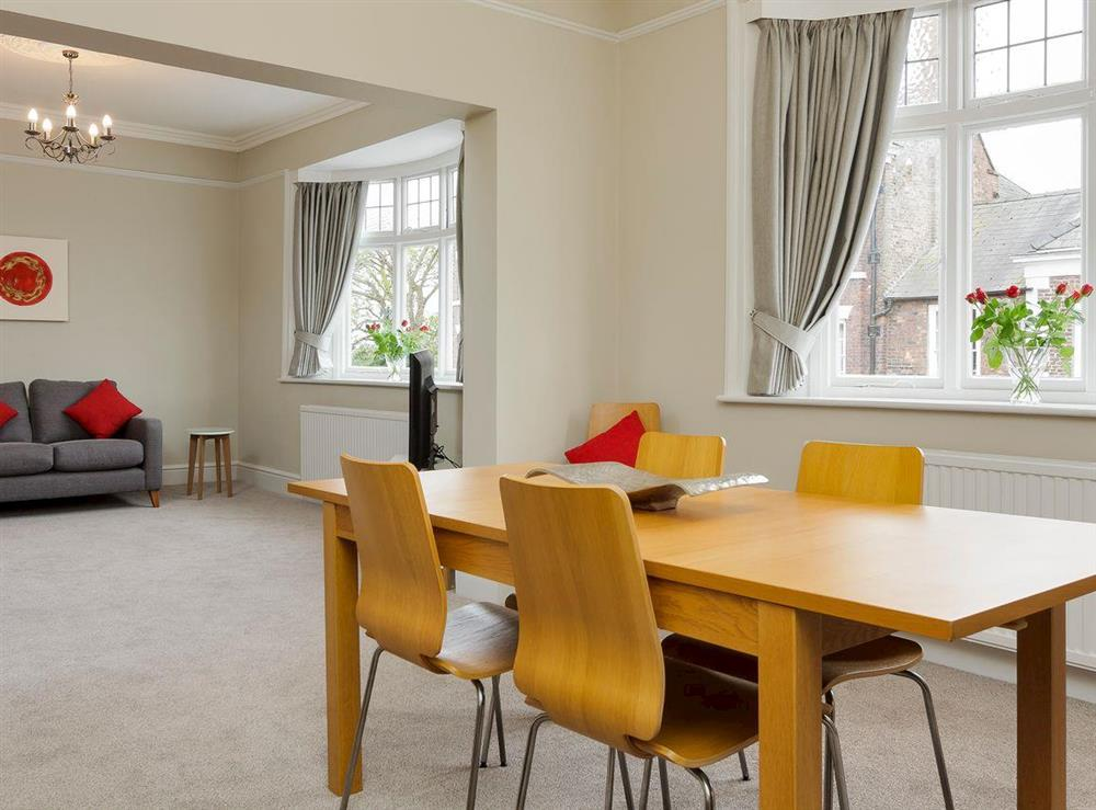 Thoughtfully converted living/dining room (photo 2) at No 1 Victoria Apartment,