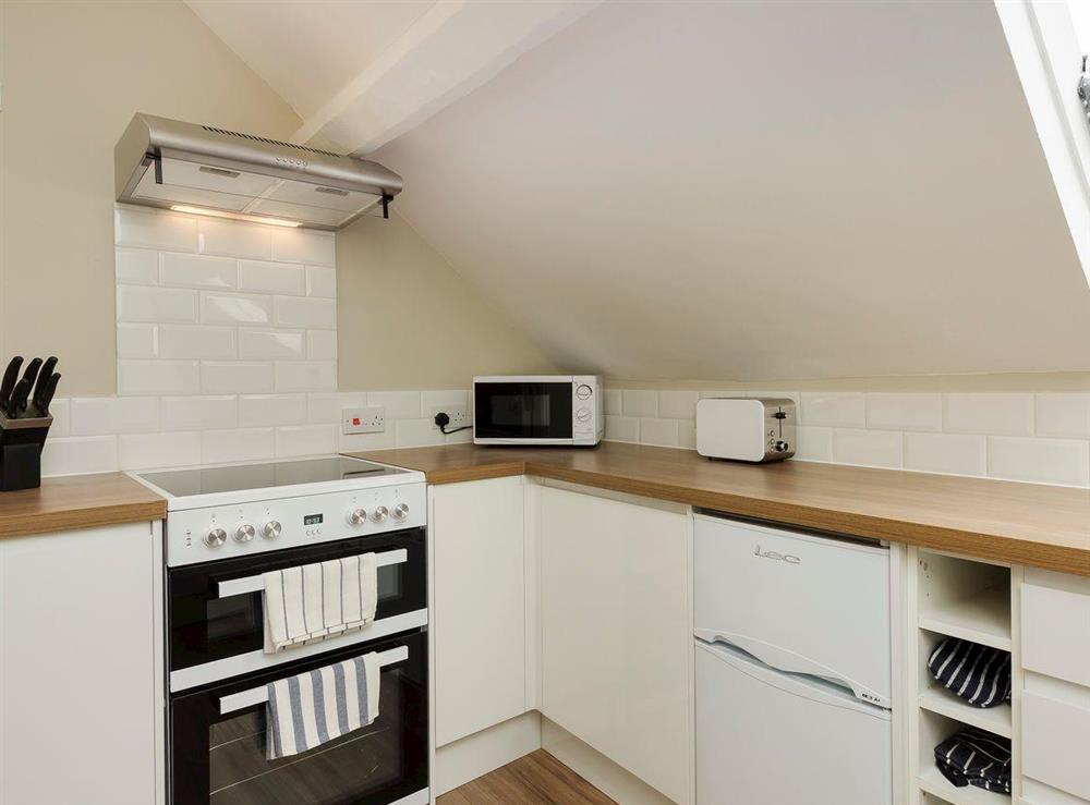 Well equipped kitchen at No 2 Victoria Apartment,