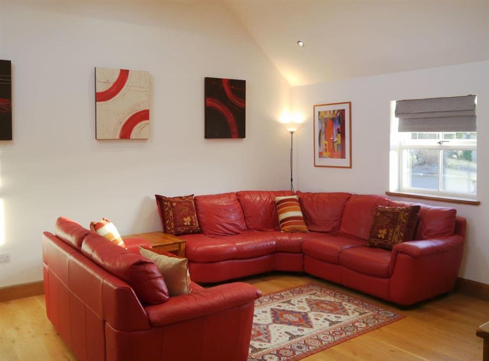 Living area at Viewfield Cottage in Clinterty, near Aberdeen, Aberdeenshire