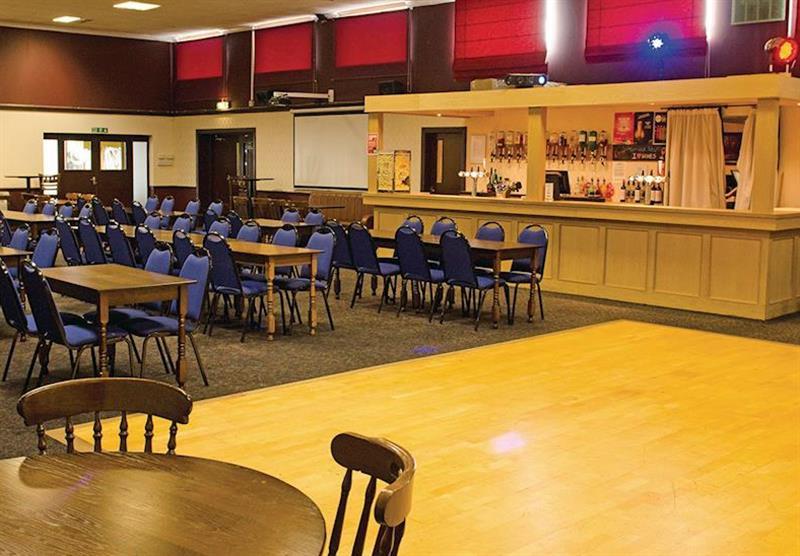 The bar at Viewfield Manor Holiday Park in Kilwinning, Ayrshire