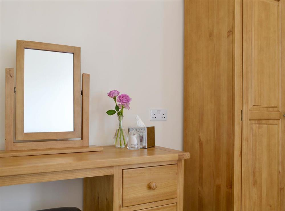 Dressing area and storage within double bedroom at Anderson,