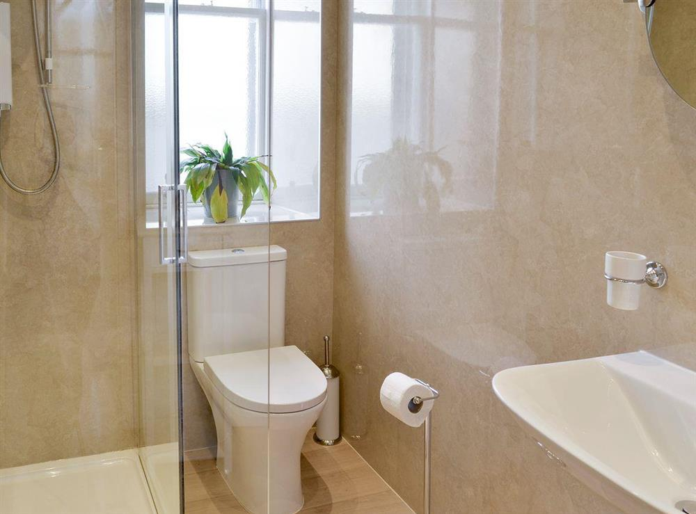 Spacious family shower room at Anderson,
