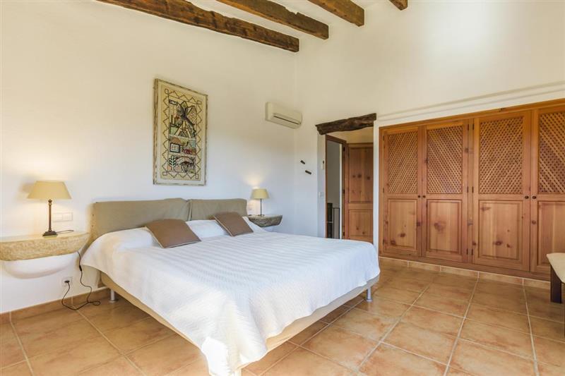 Double bedroom at Villa Amparo, Alcudia, Spain