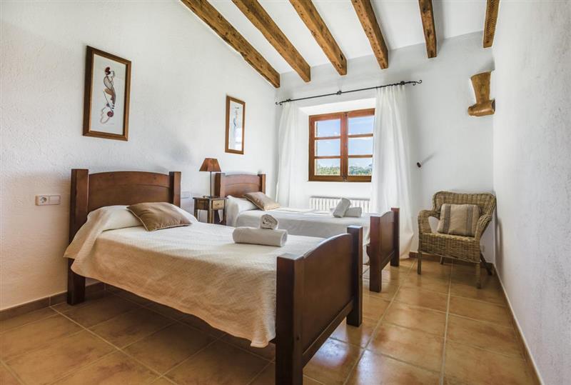 Twin bedroom at Villa Amparo, Alcudia, Spain
