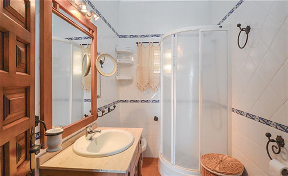 Bathroom at Villa Amparo, Frigiliana, Andalucia