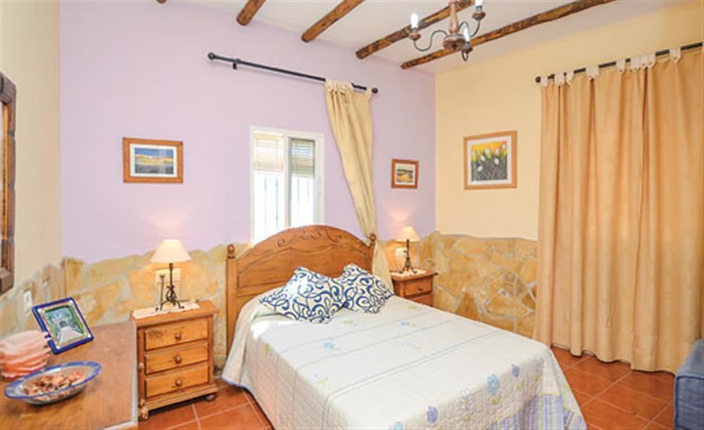 Double bedroom at Villa Amparo, Frigiliana, Andalucia